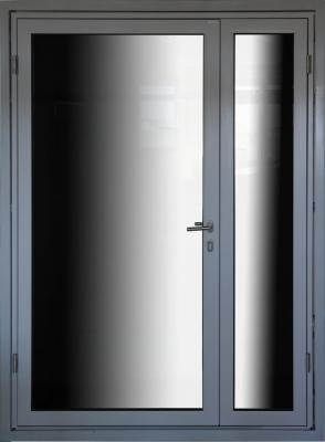 EI60 fire-rated steel profile doors